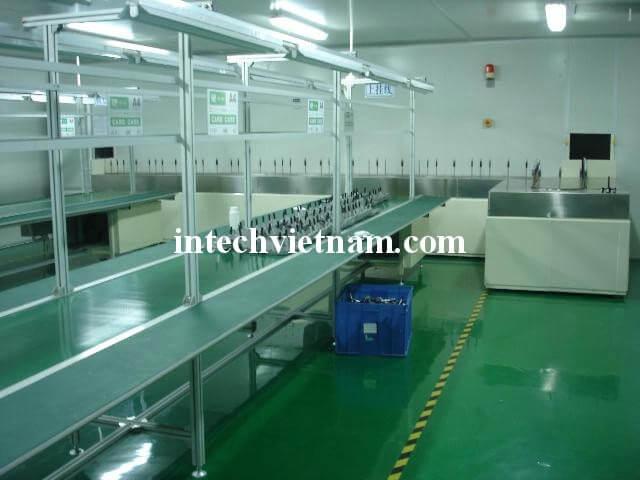 Băng tải công nghiệp chính hãng Intech Việt Nam