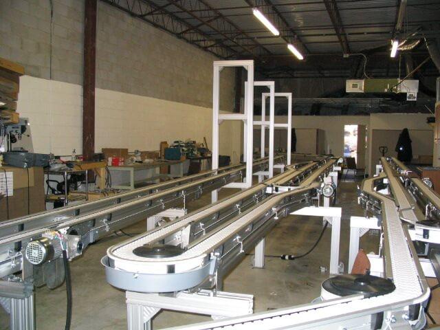 Sử dụng băng tải xích trong ngành công nghiệp thực phẩm