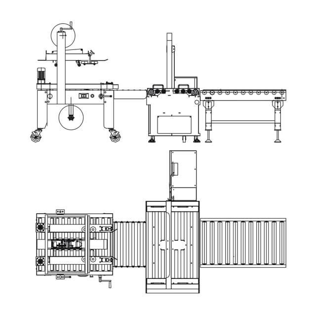 Máy đóng thùng carton 1