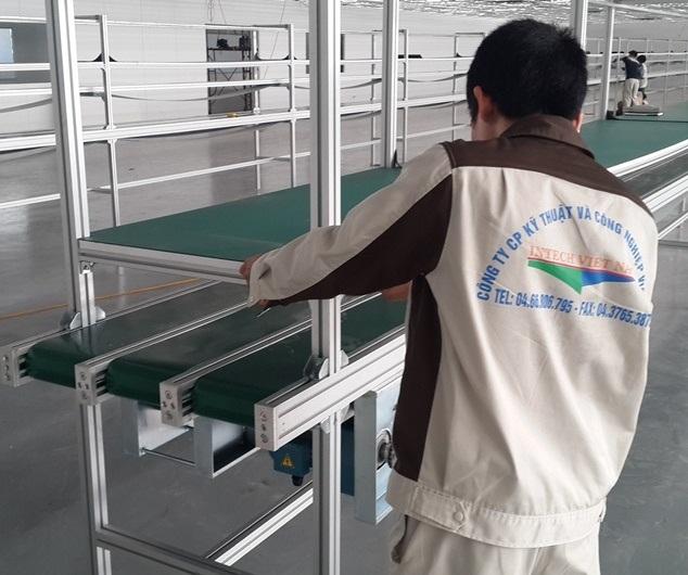 Công ty sản xuất băng tải Intech Việt Nam tại Hà Nội