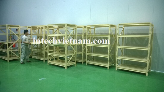 Giá kệ hàng lắp đặt cho nhà máy Sumi tại Hải Dương