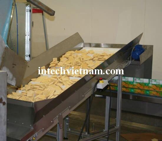 Hệ thống băng tải bánh kẹo