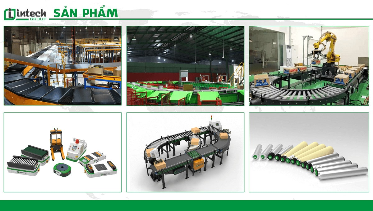 Các dòng sản phẩm tại Intech Group