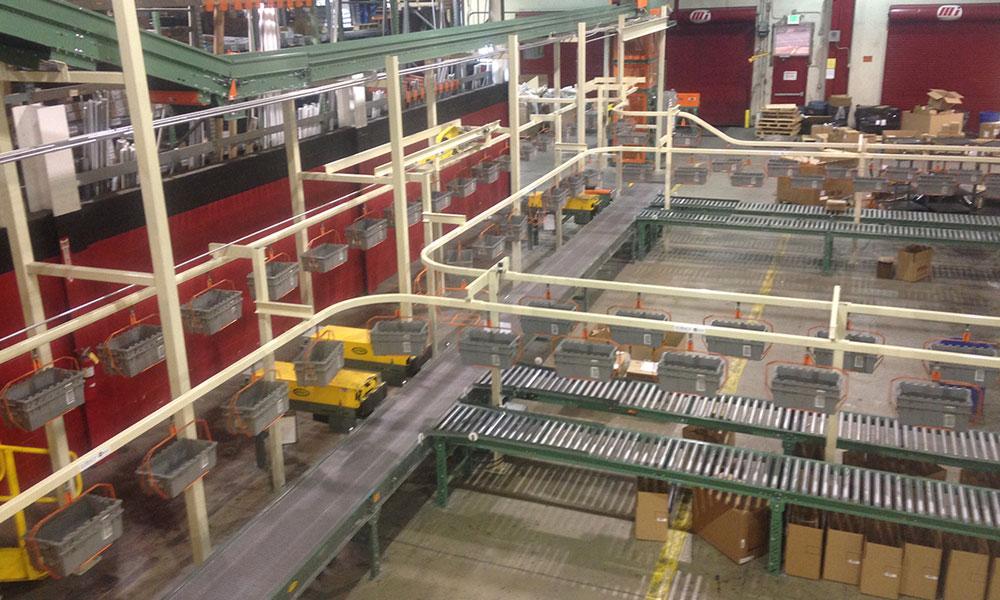 Băng tải nhà máy Đồng Nai