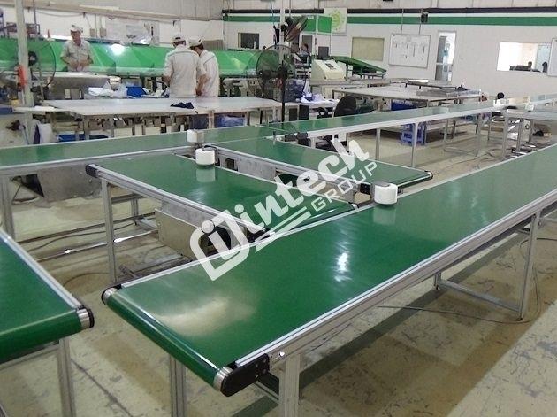 Băng tải thực phẩm cho ngành sản xuất sữa
